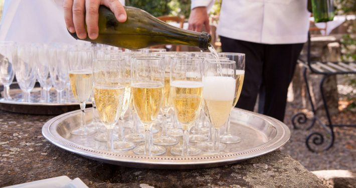 Champagne Eventcatering